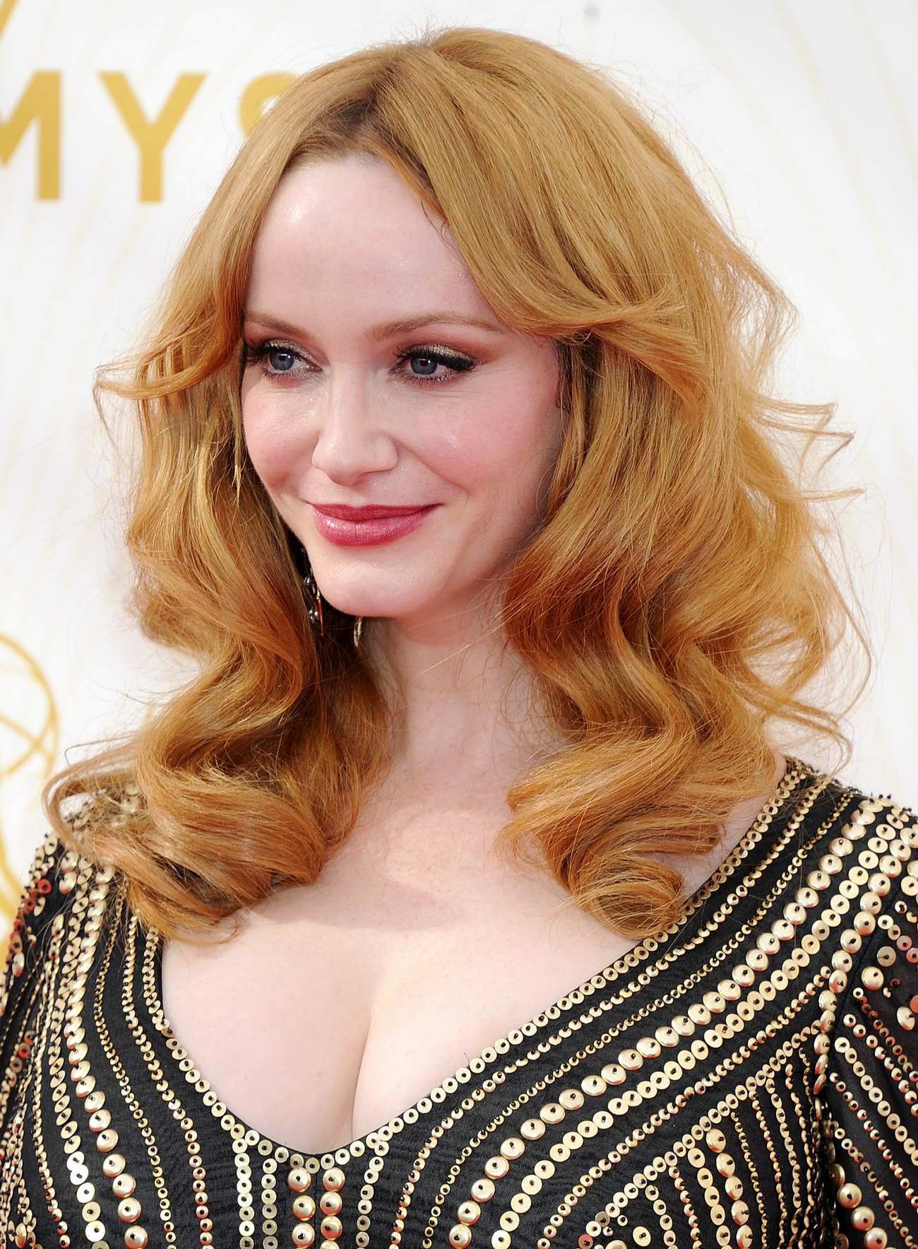 Christina Hendricks Arrives at Annual Primetime Emmy Awards-3
