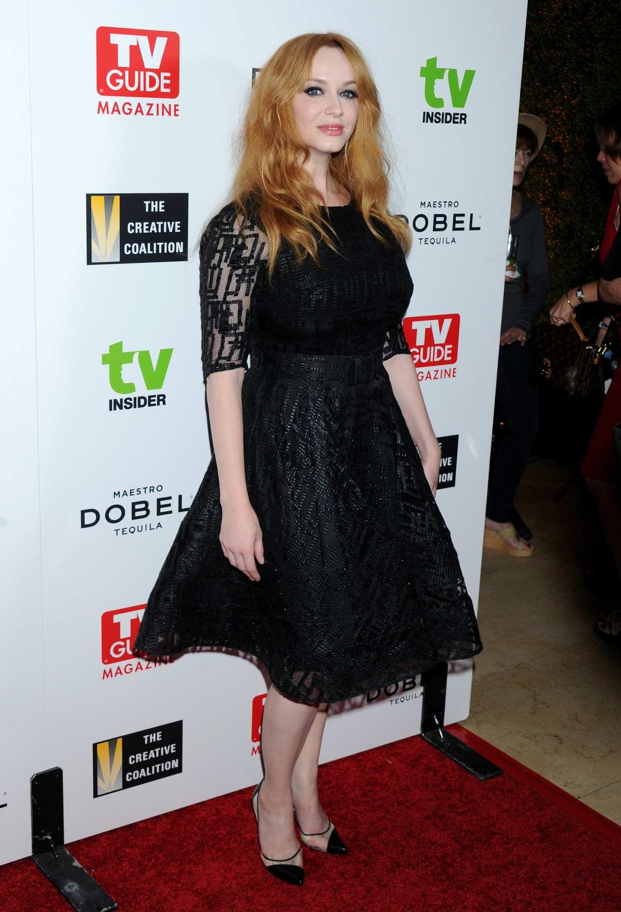 Christina Hendricks at The Television Industry Advocacy Awards Gala-2