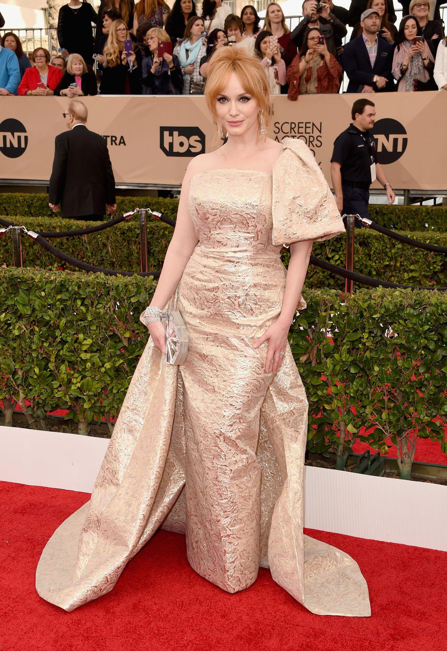 Christina Hendricks attendse Annual Screen Actors Guild Awards-2