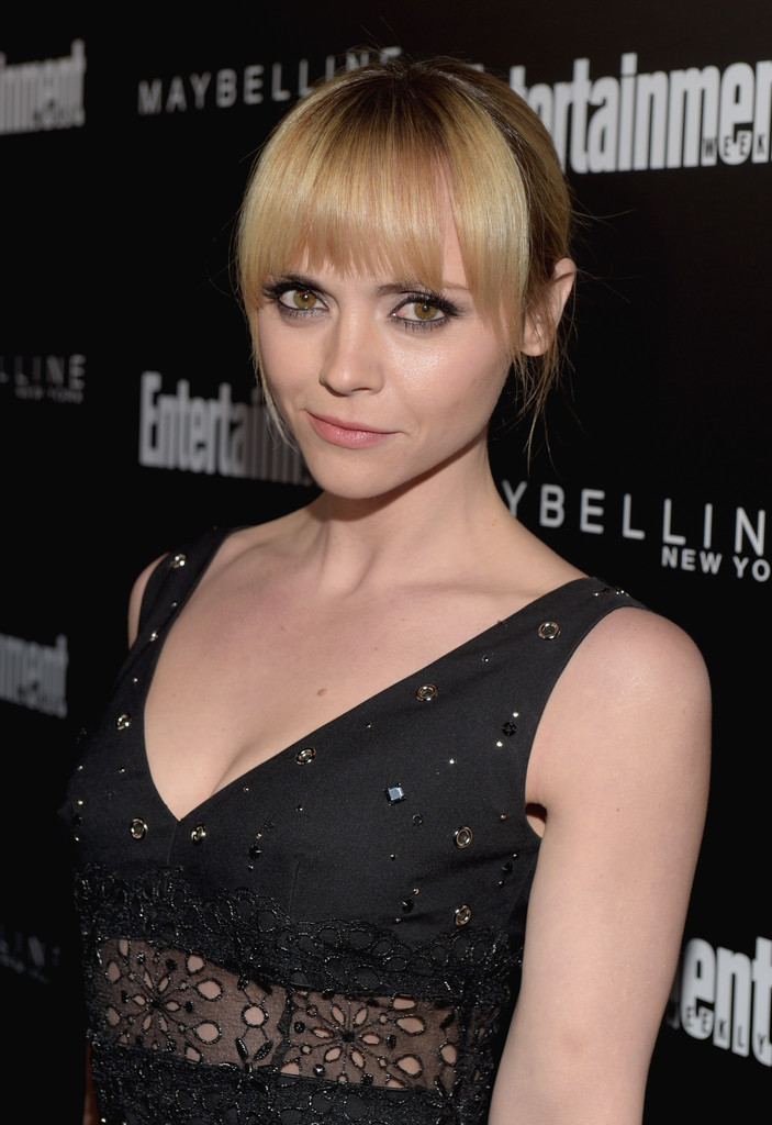 Christina Ricci arrives at Entertainment Weekly Celebration