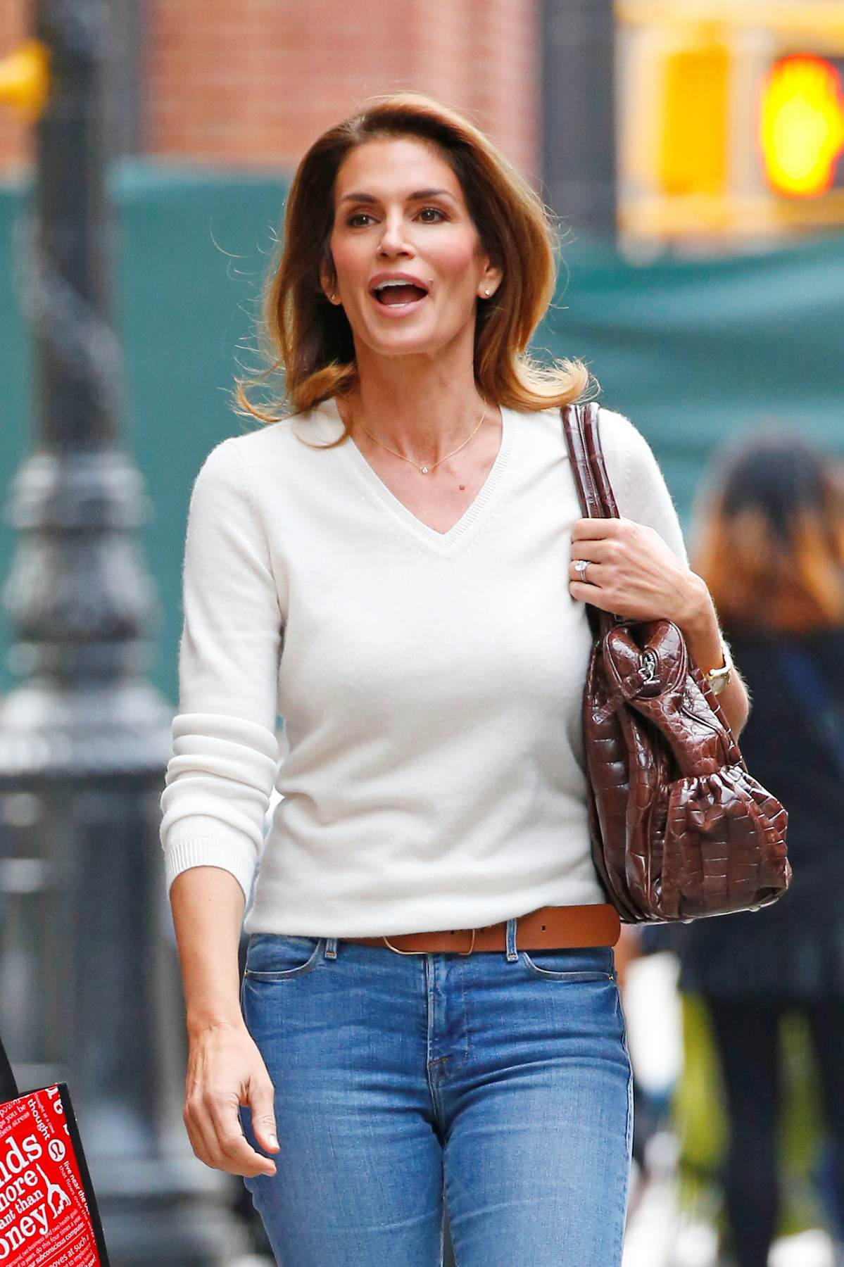 Cindy Crawford In New York City-1