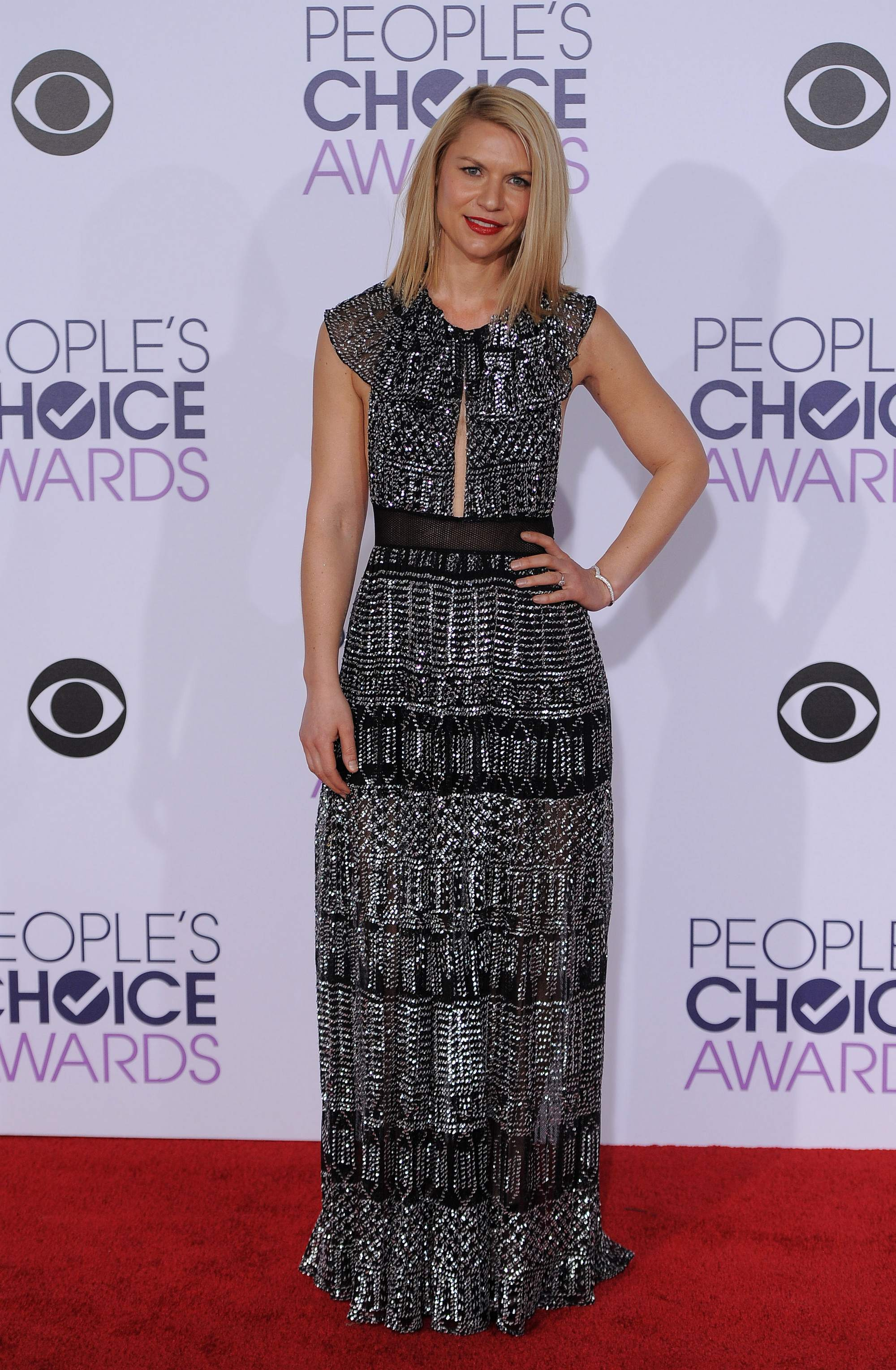 Claire Danes at Peoples Choice Awards on-3