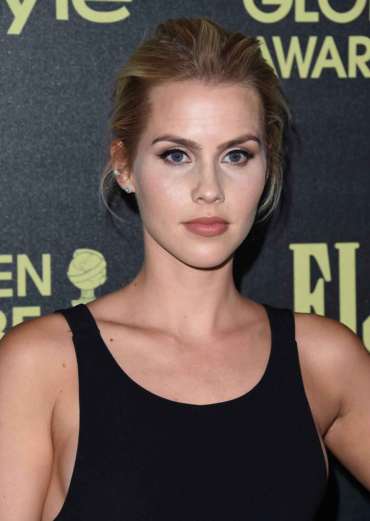Claire Holt arrives HFPA Event-1