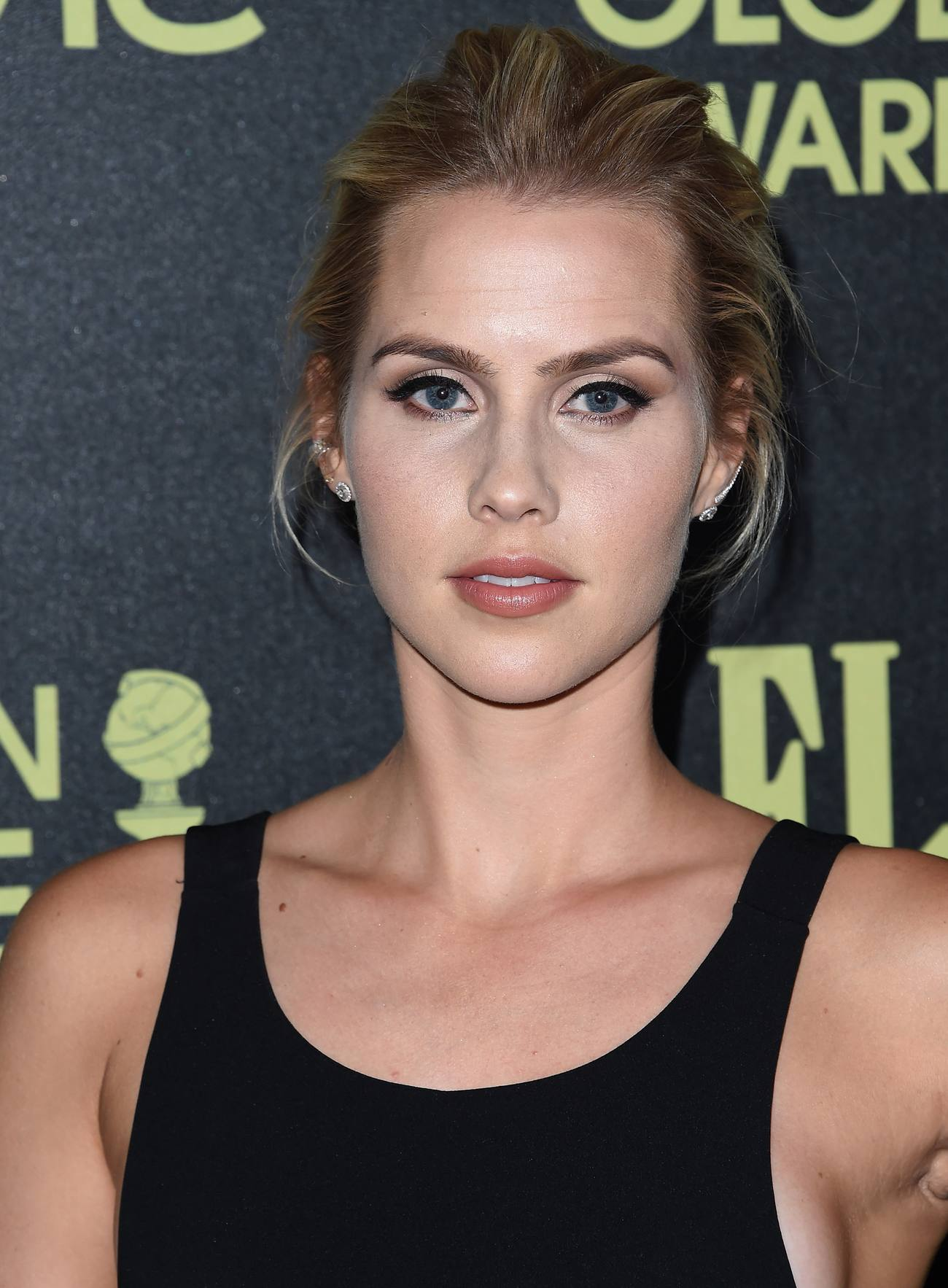 Claire Holt arrives HFPA Event-2