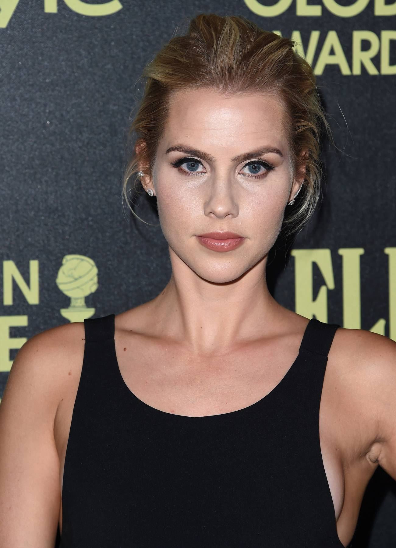 Claire Holt arrives HFPA Event-3