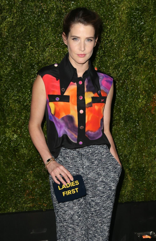 Cobie Smulders at Cobie Smulders ate Tribeca Film Festival Chanel Dinner-1