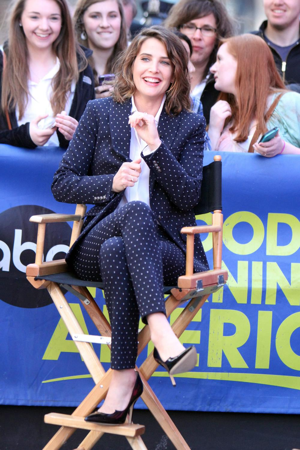 Cobie Smulders on ABCs Good Morning America-1