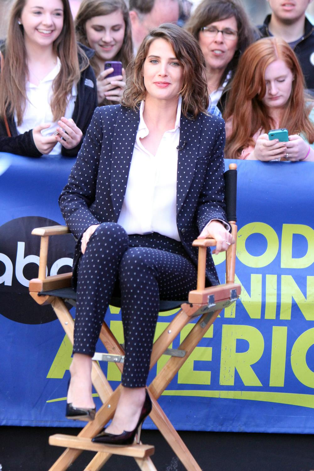 Cobie Smulders on ABCs Good Morning America-2