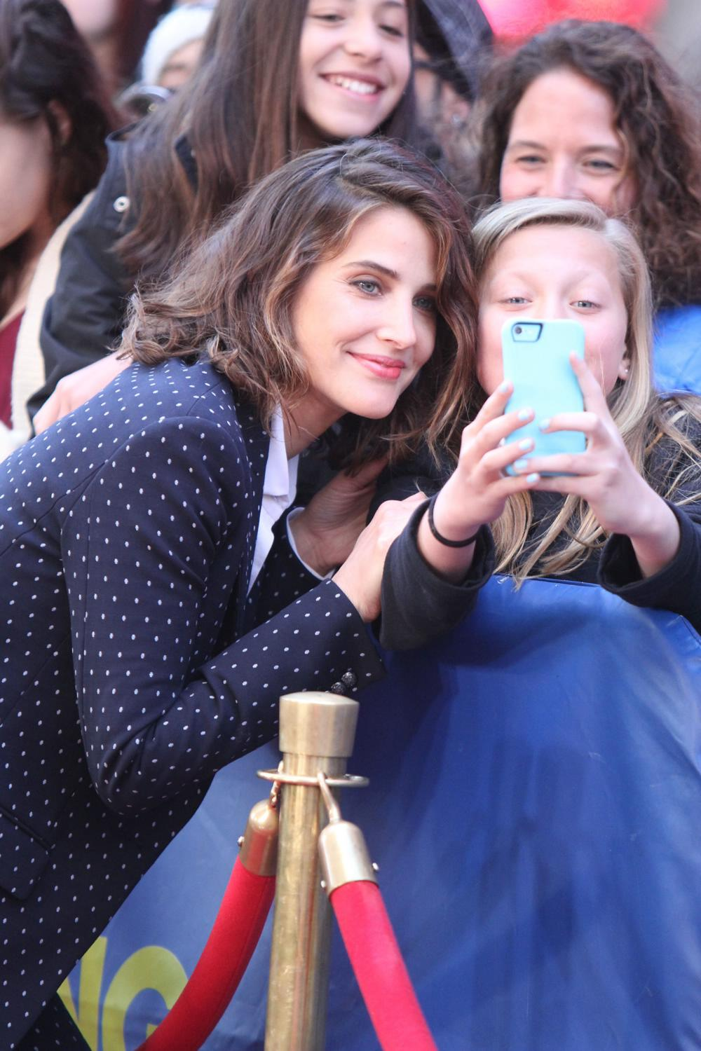 Cobie Smulders on ABCs Good Morning America-3