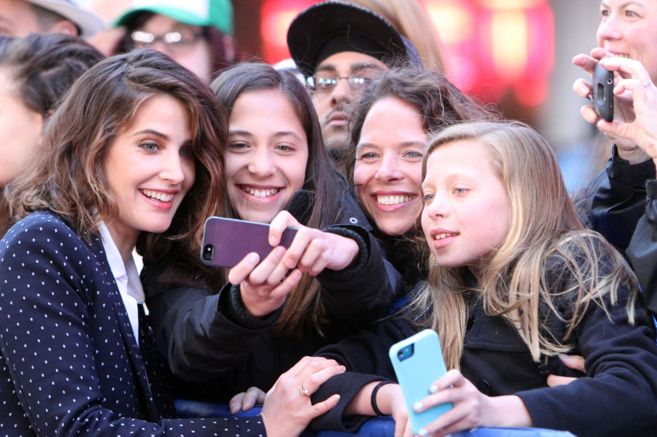 Cobie Smulders on ABCs Good Morning America-4