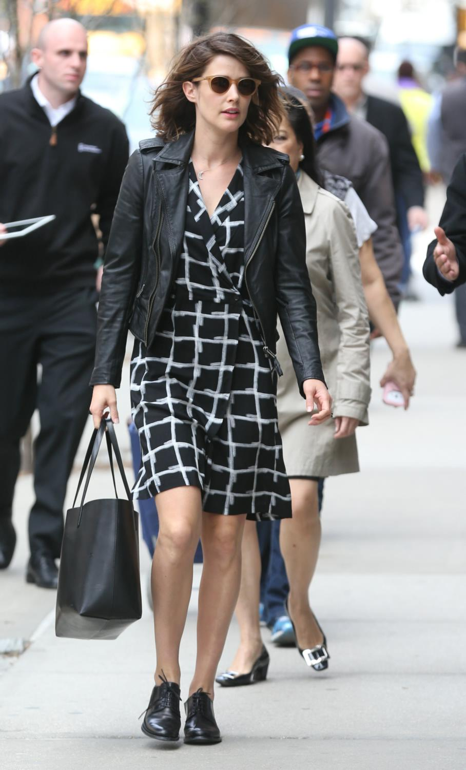 Cobie Smulders Out in NYC-1