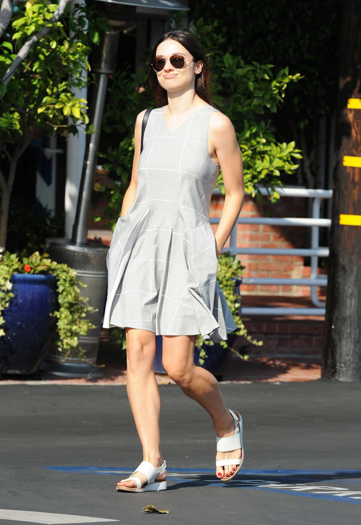 Crystal Reed Out in LA-4
