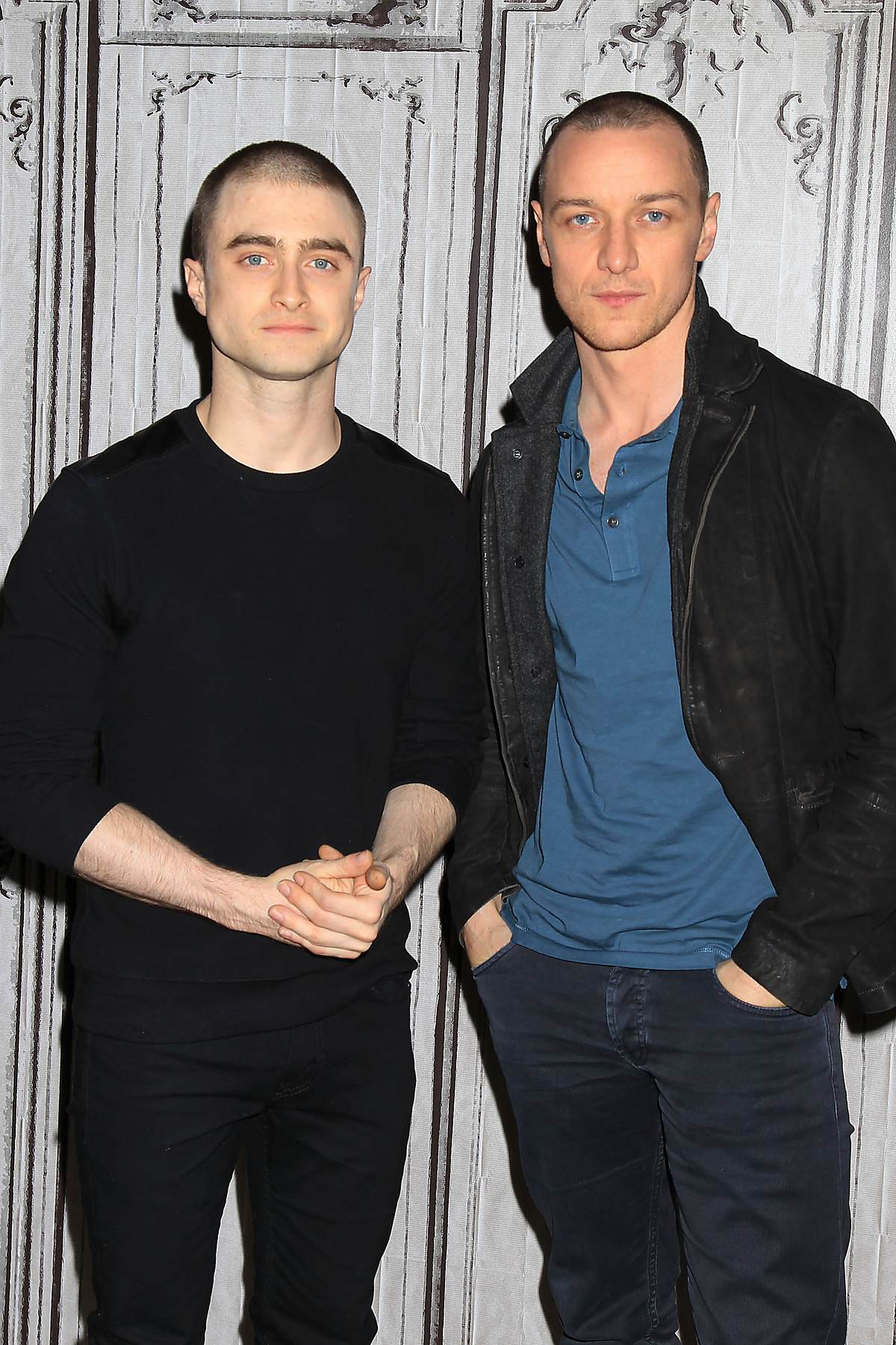 Daniel Radcliffe and James McAvoy Promote Victor Frankenstein at AOL Event-2