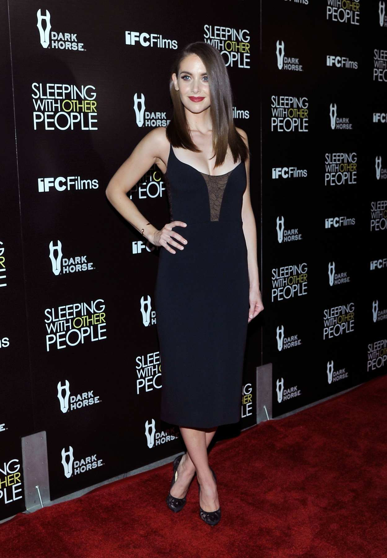 Dave Franco and Alison Brie at Sleeping with Other People LA Premiere-1