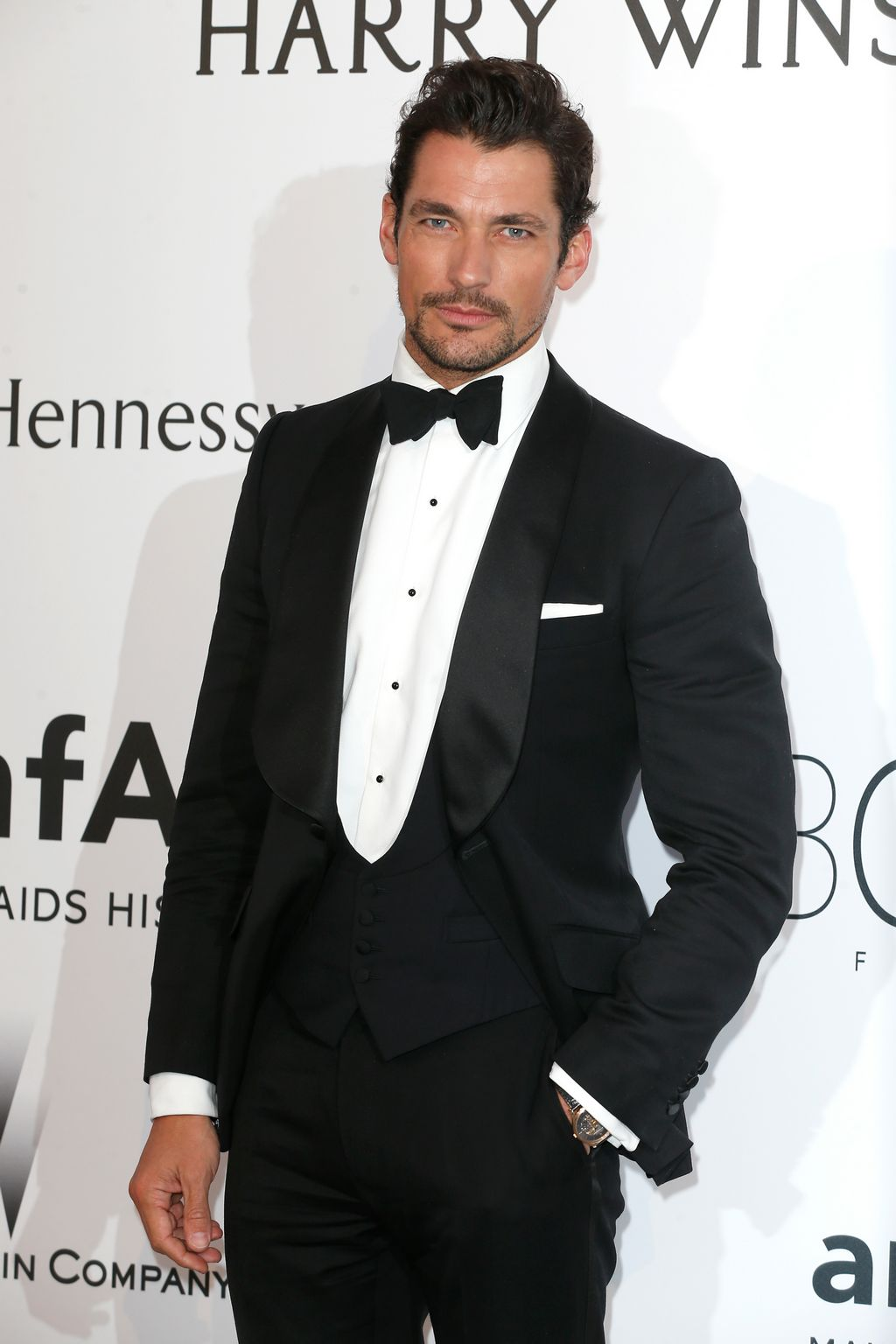 David Gandy at amfARs Cinema Against AIDS Gala-1