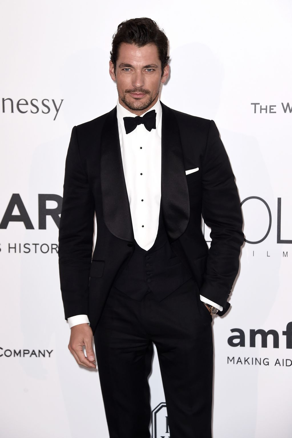 David Gandy at amfARs Cinema Against AIDS Gala-2