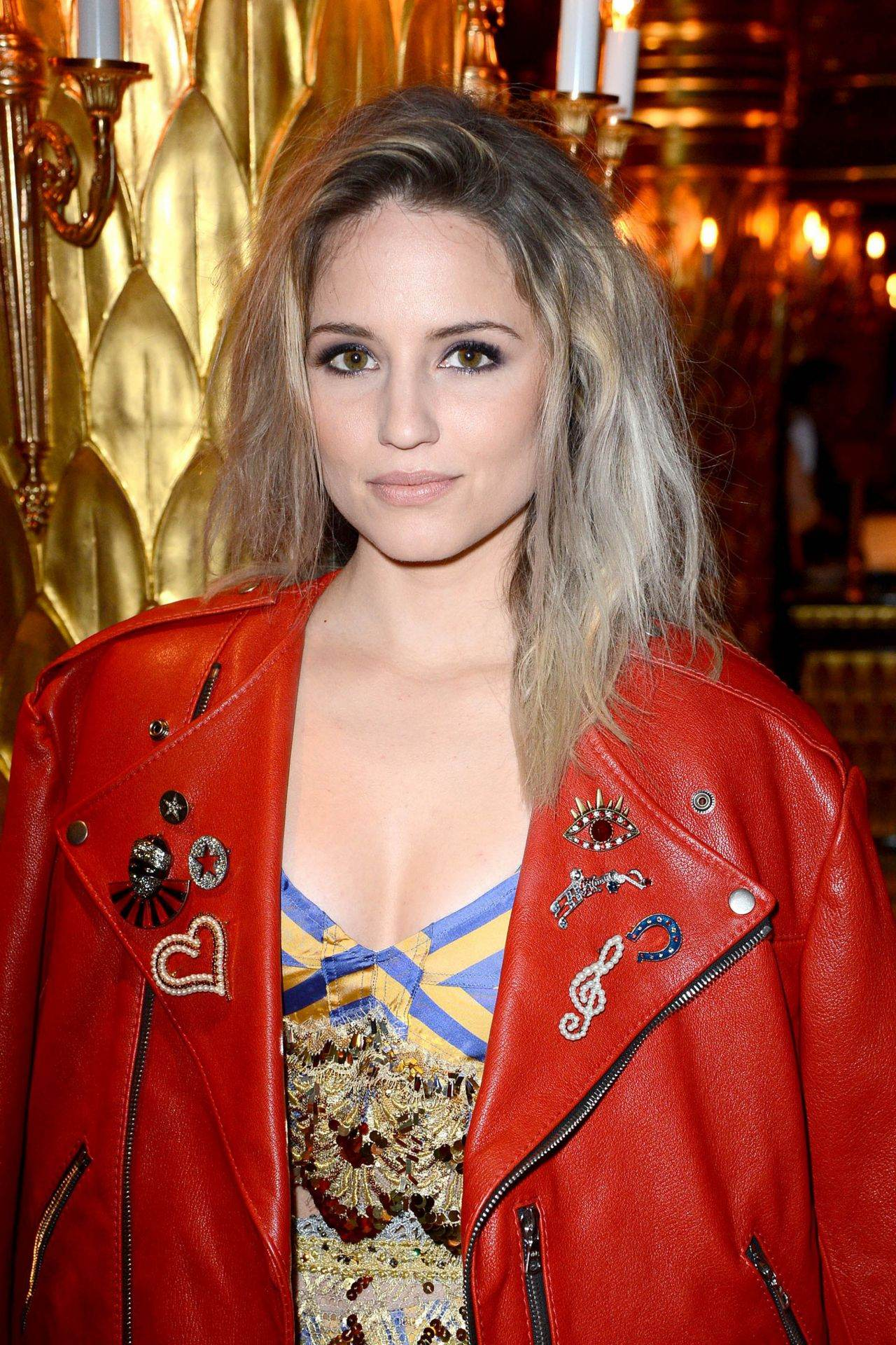 Dianna Agron arrives at Marc Jacobs Beauty Dinner-1