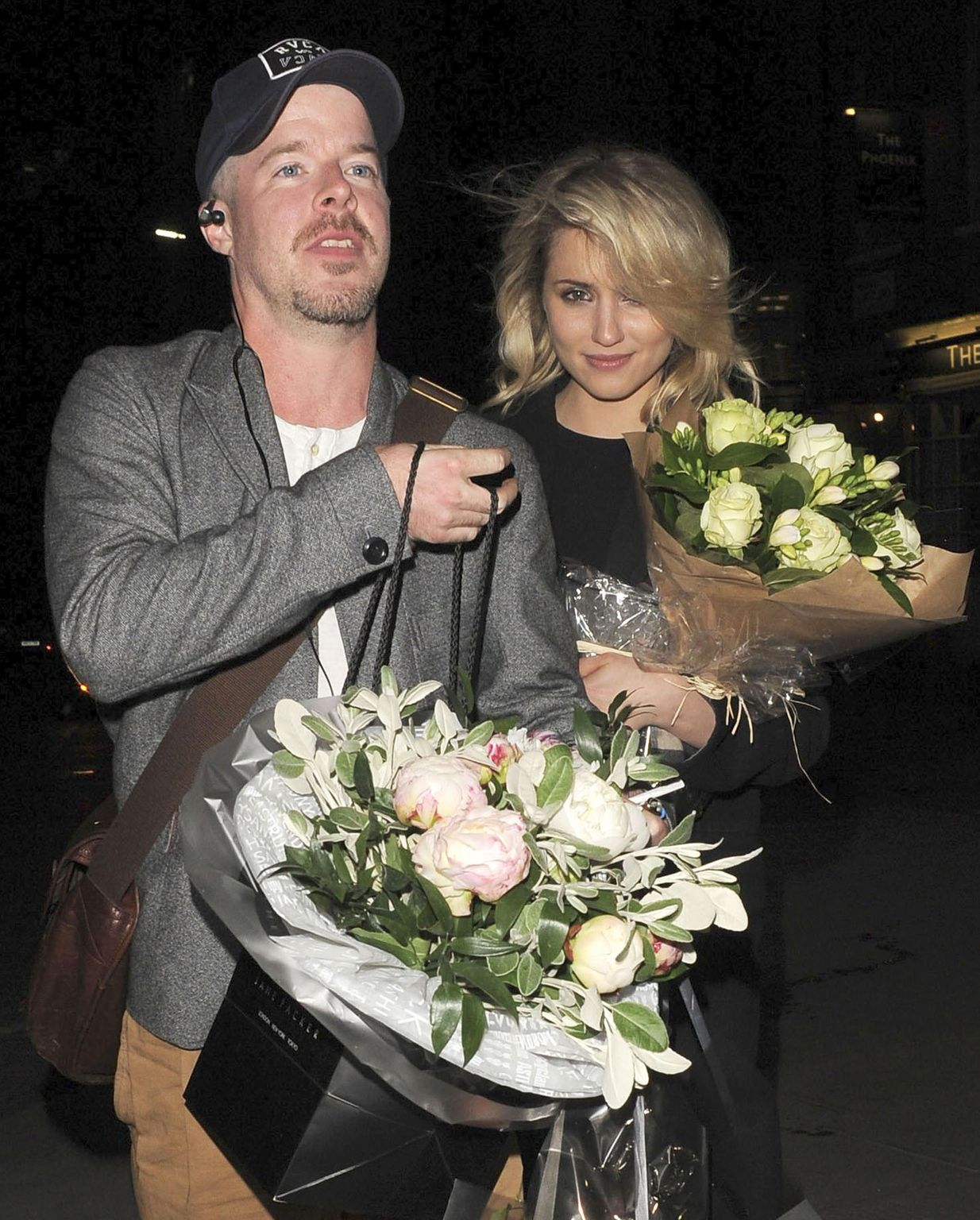 Dianna Agron Leaves James Theatre-1