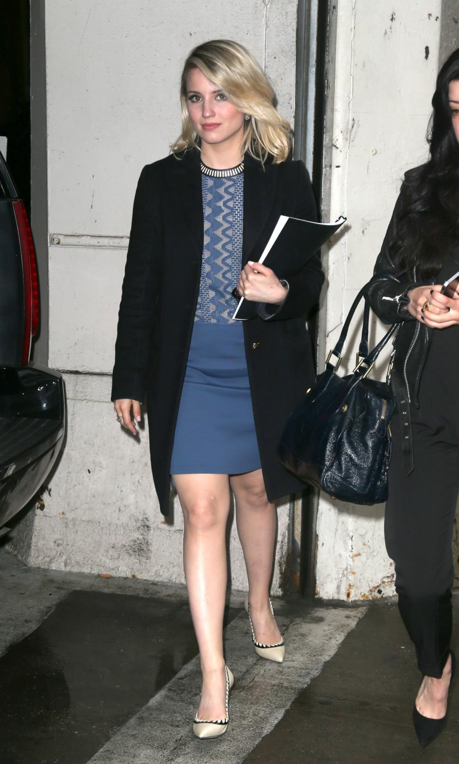 Dianna Agron Out in NYC-1