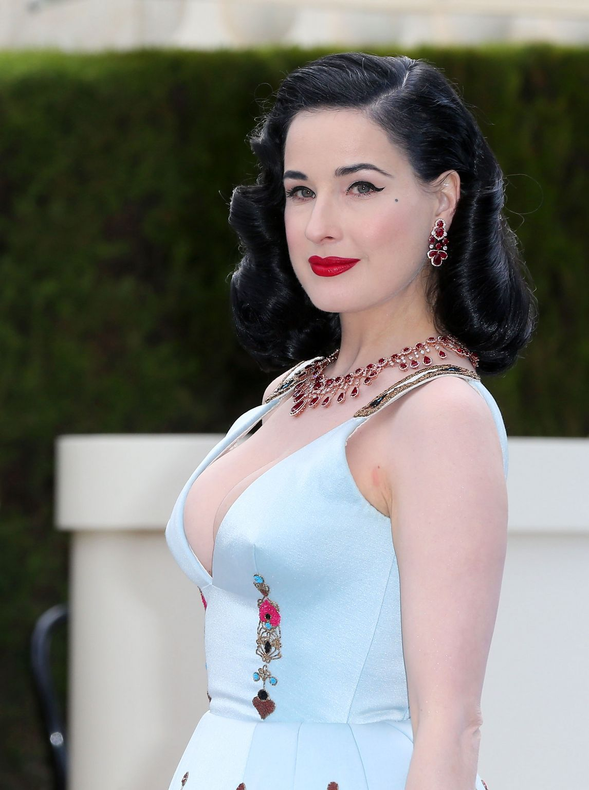 Dita Von Teese at amfARs Cinema Against AIDS Gala-1