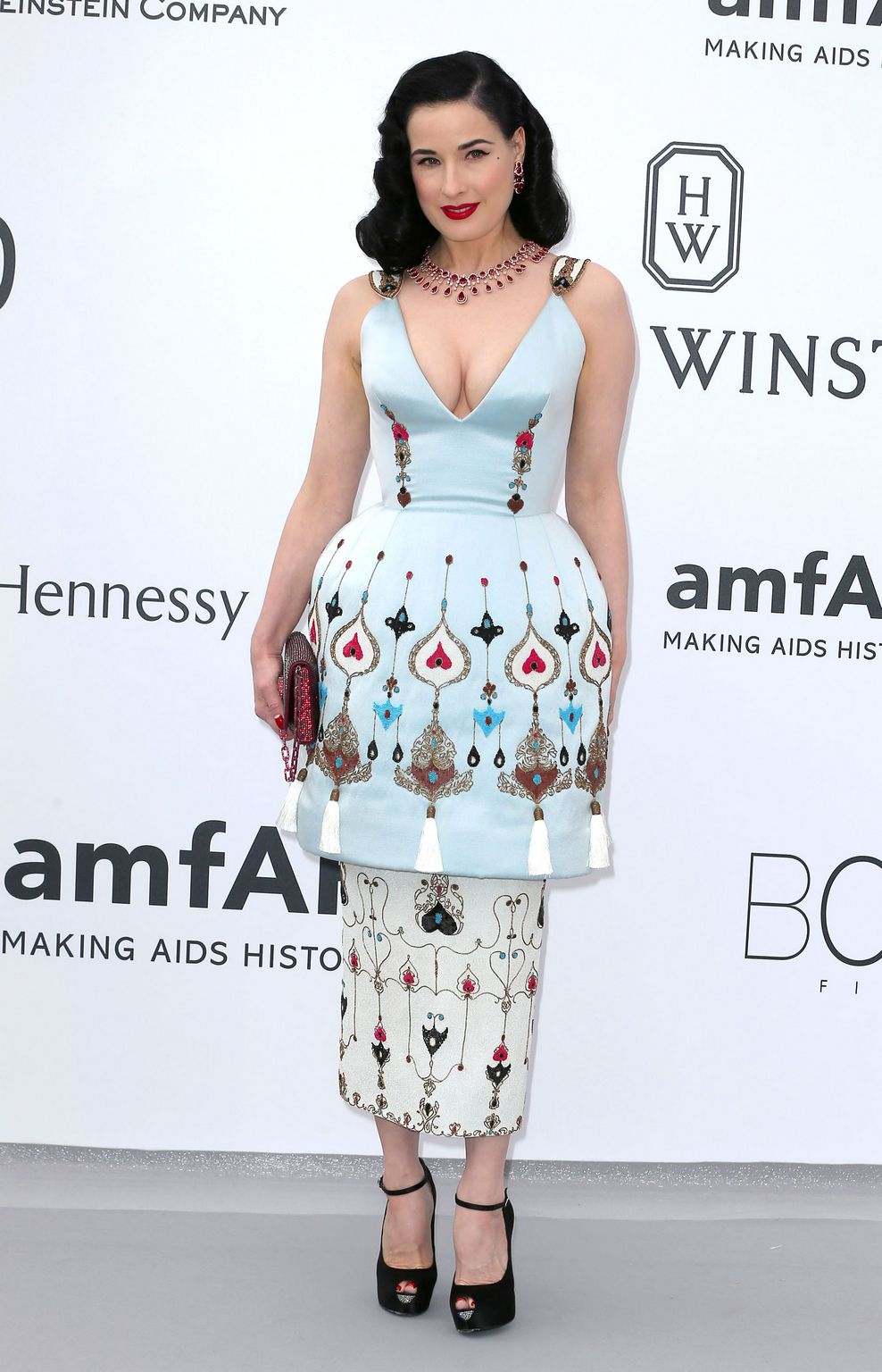 Dita Von Teese at amfARs Cinema Against AIDS Gala-3