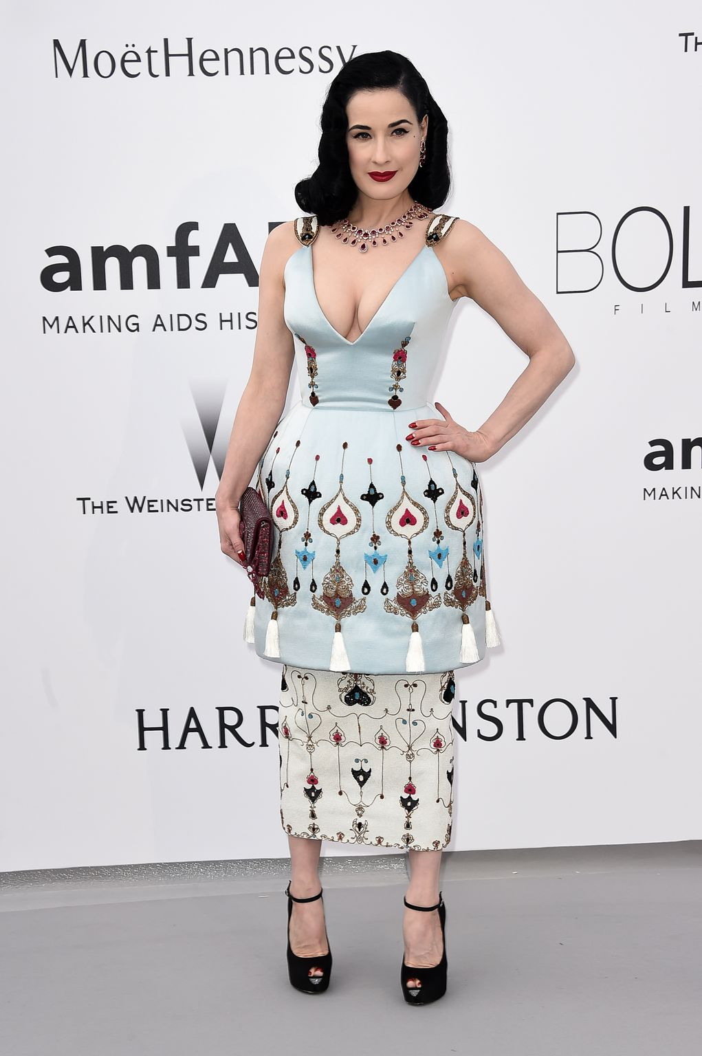 Dita Von Teese at amfARs Cinema Against AIDS Gala-4