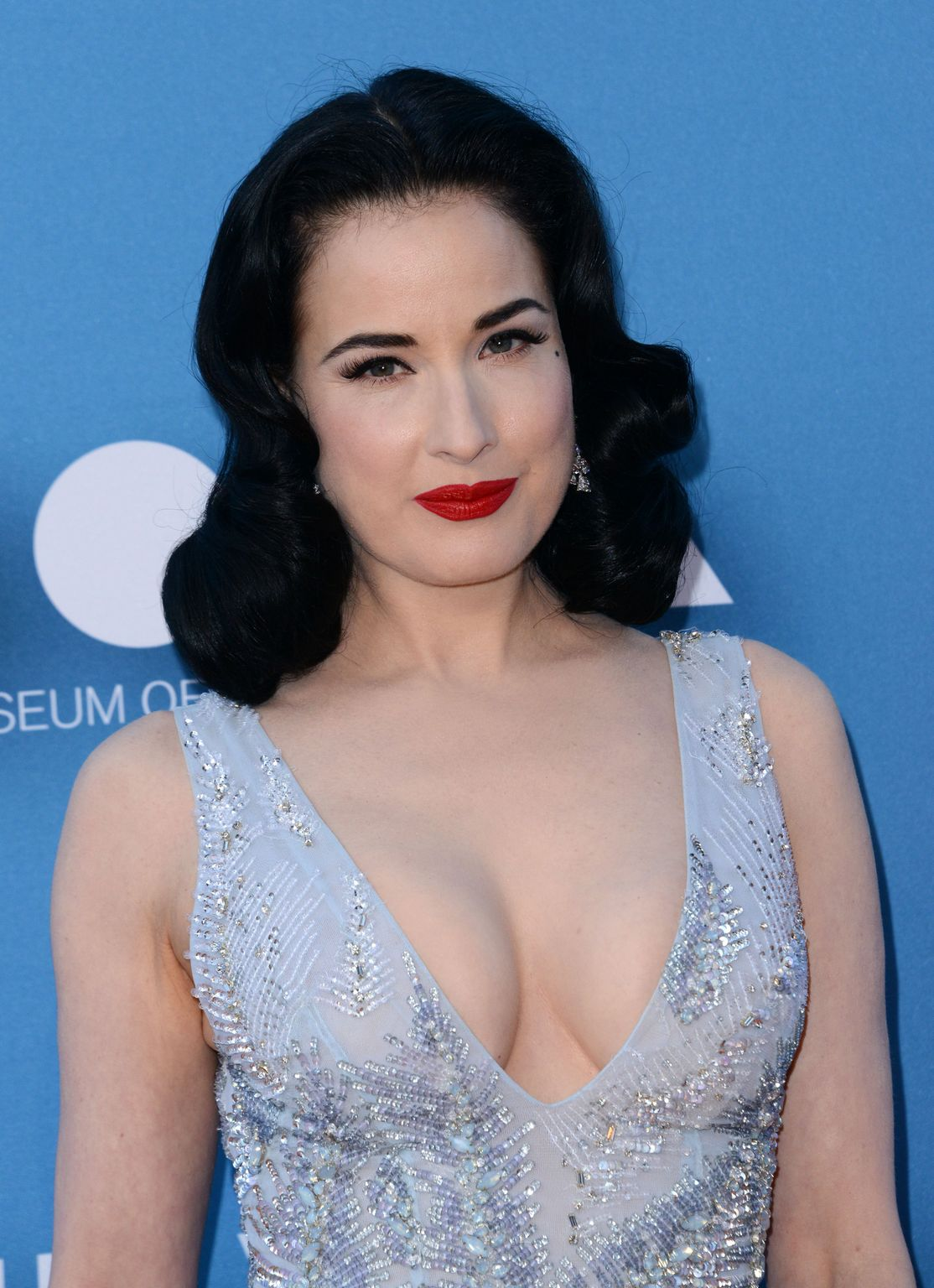Dita Von Teese at MOCA Gala presented by Louis Vuitton at The Geffen Contemporary-3