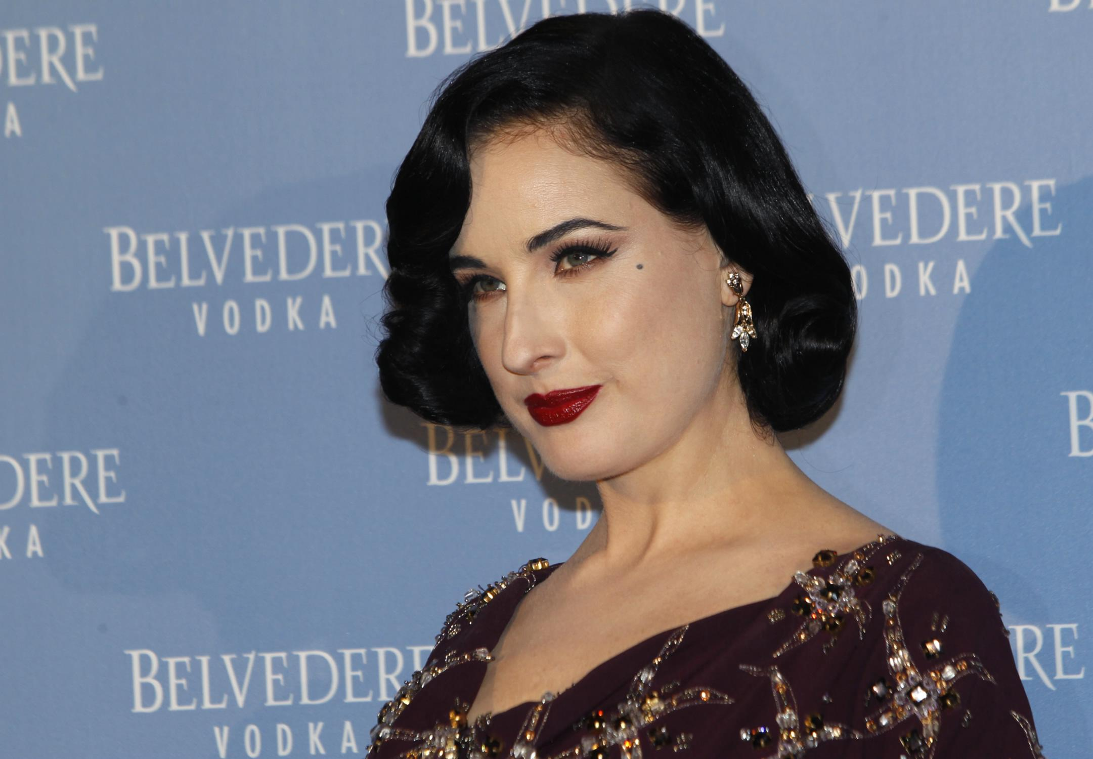 Dita Von Teese Attends Belvedere Vodka Event-4