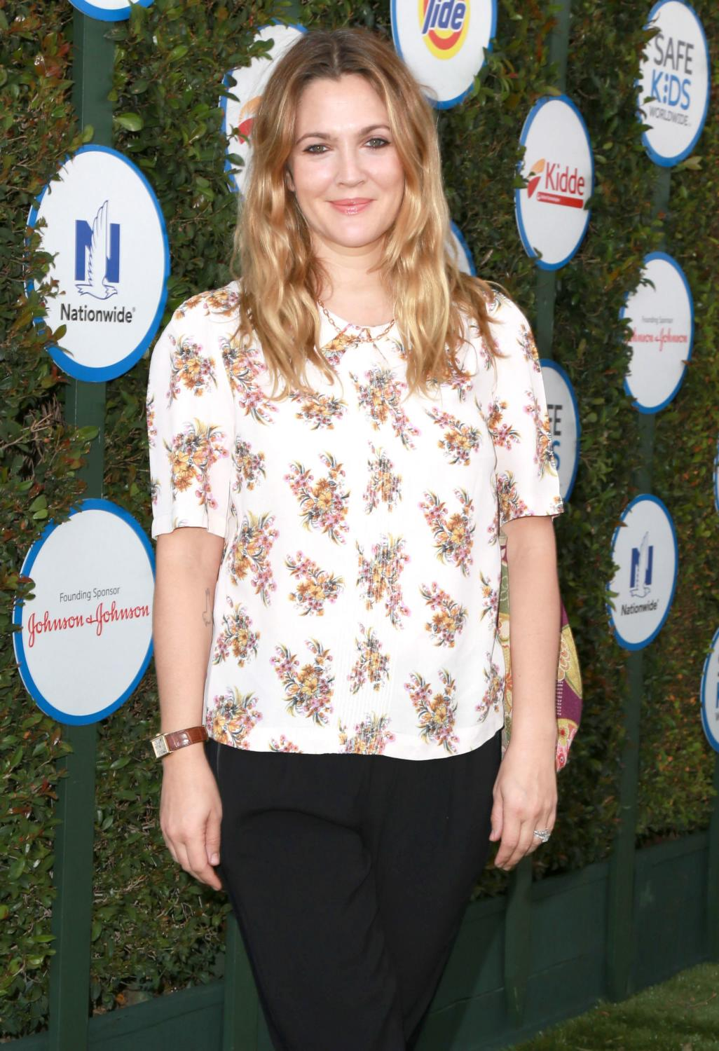 Drew Barrymore at Safe Kids Day Presented By Nationwide-1