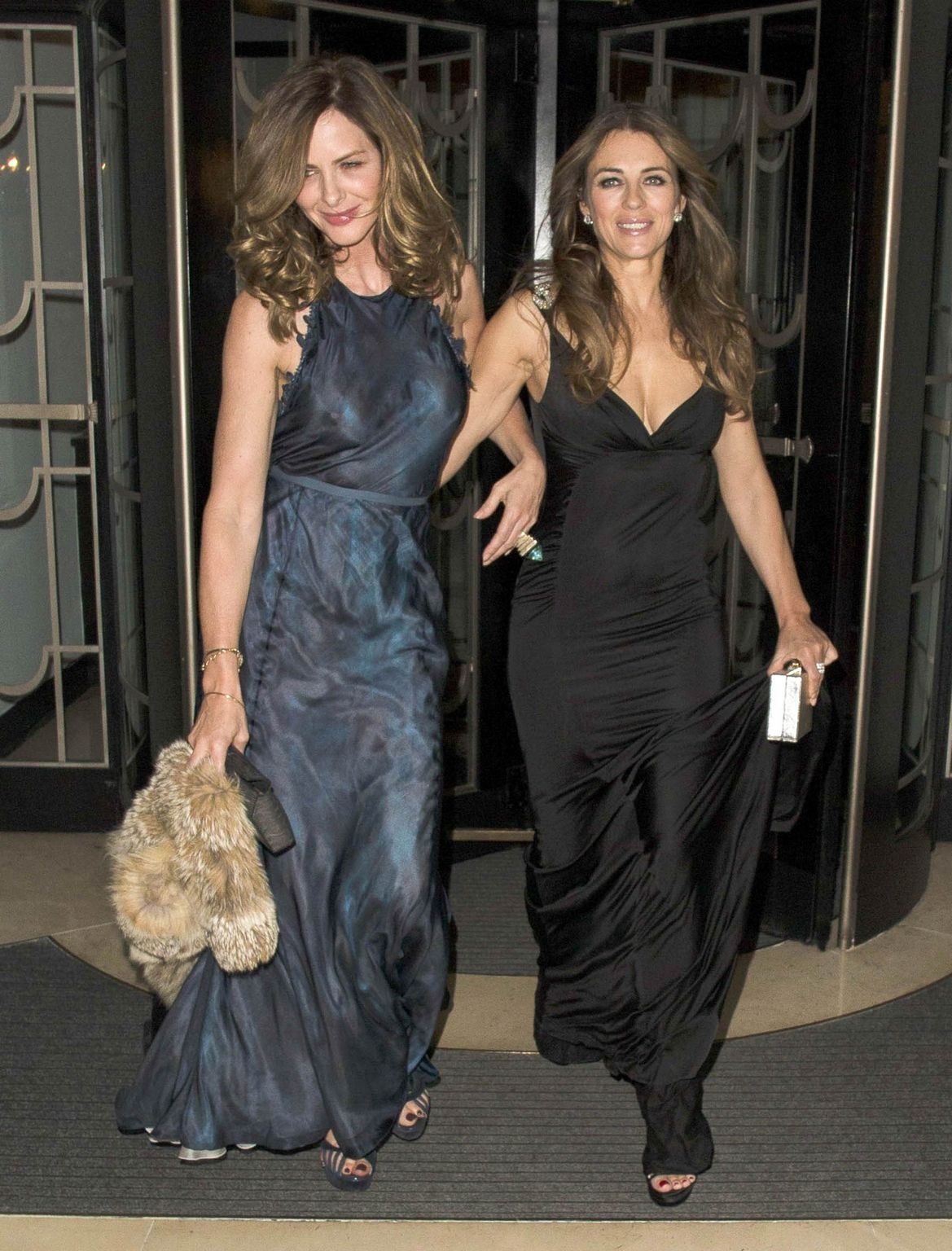 Elizabeth Hurley, Trinny Woodall and Natalie Imbruglia at Quercus Biasi Foundation Spring Gala-2