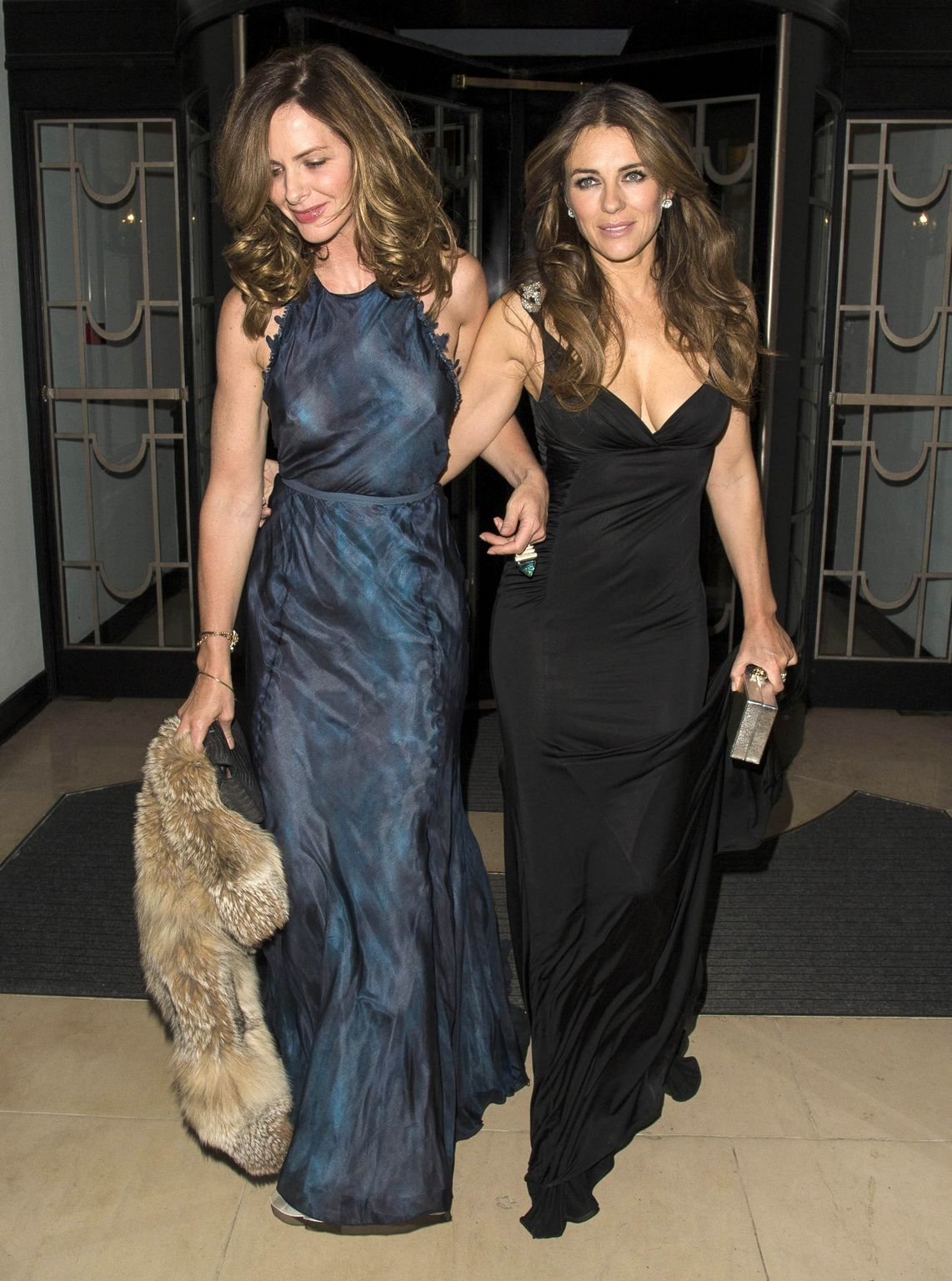 Elizabeth Hurley, Trinny Woodall and Natalie Imbruglia at Quercus Biasi Foundation Spring Gala-3