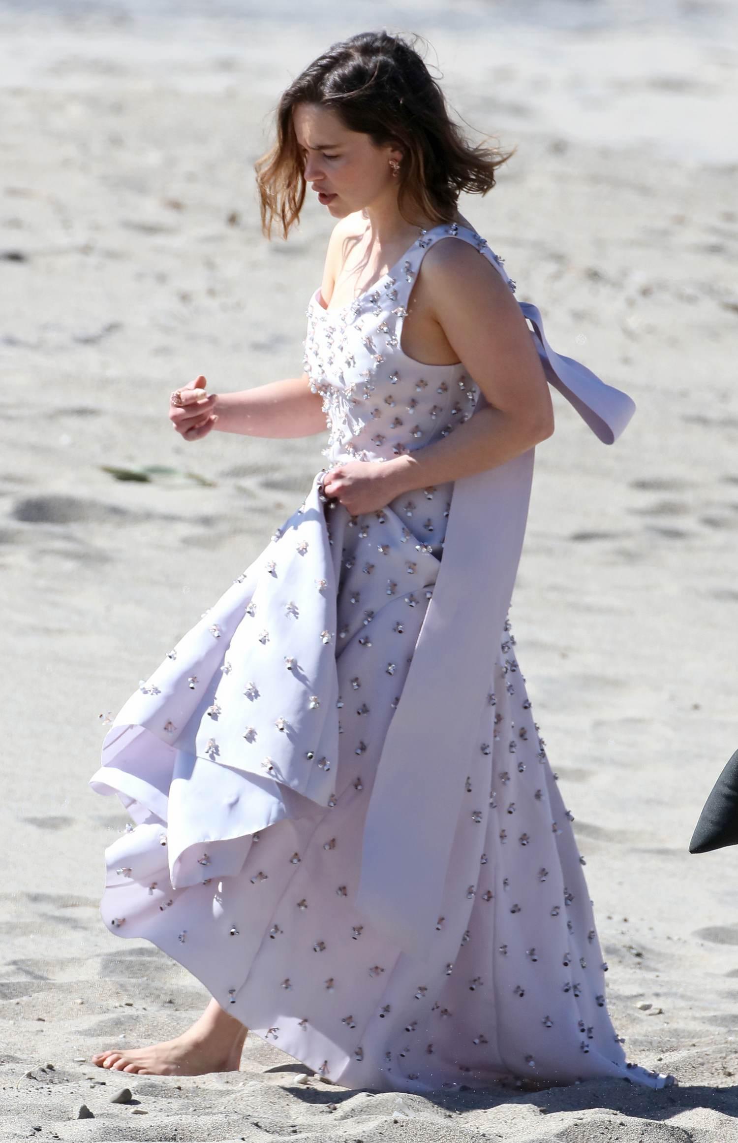 Emilia Clarke Photoshooting in CA-1