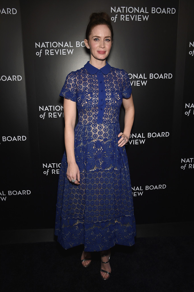 Emily Blunt arrives at National Board of Review Gala-2