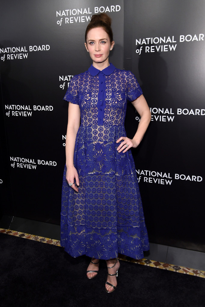 Emily Blunt arrives at National Board of Review Gala-3