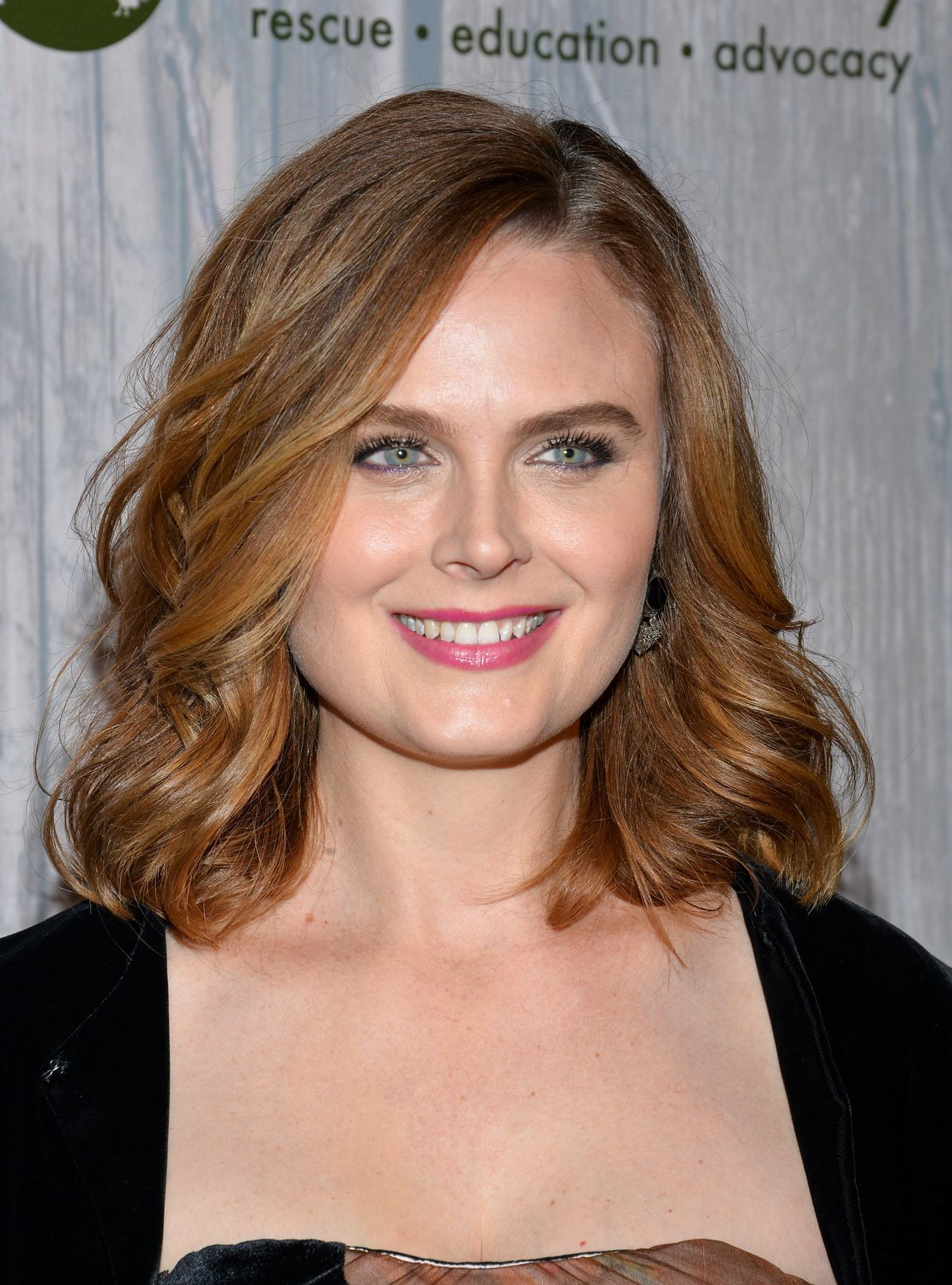 Emily Deschanel at Farm Sanctuary Gala-2