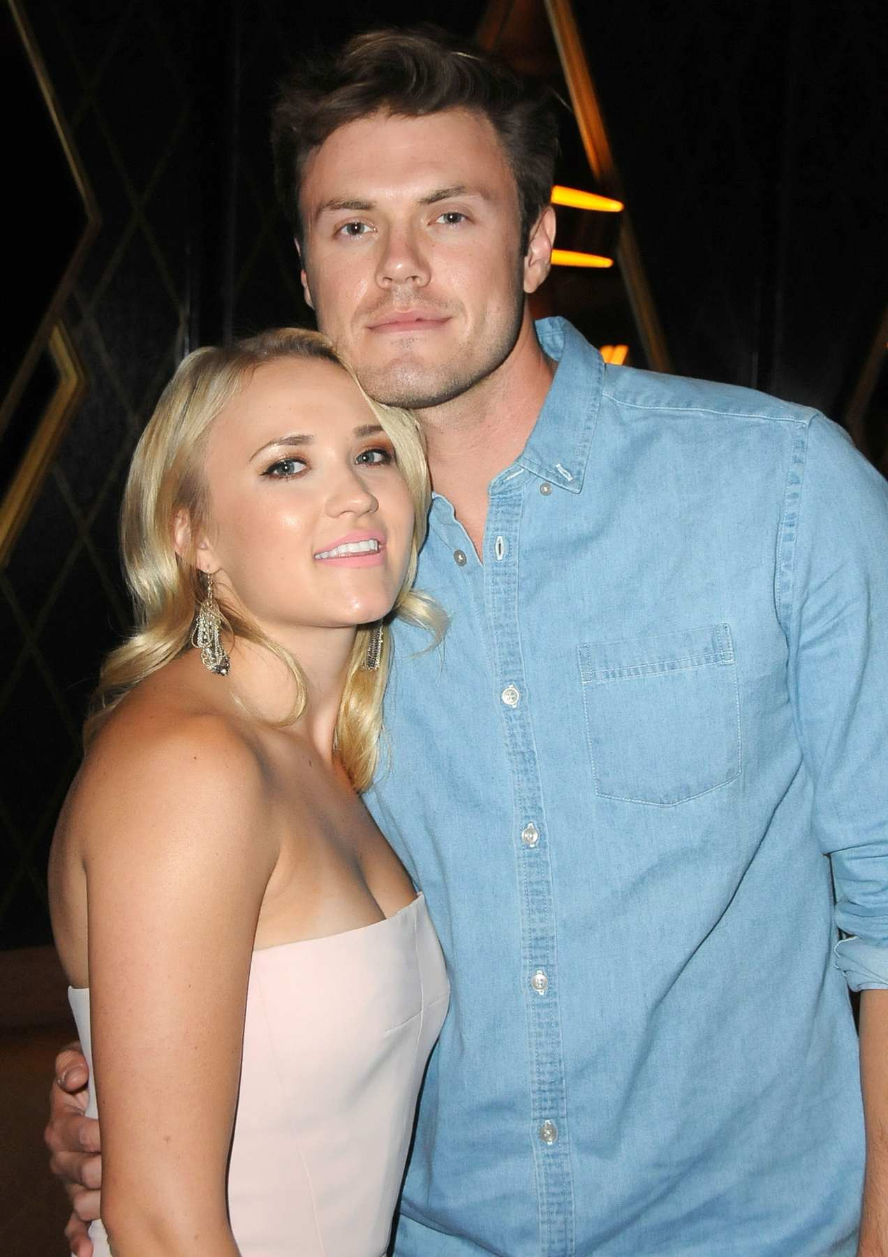 Emily Osment and Her Beau attends BooBullying Benefit Event-2