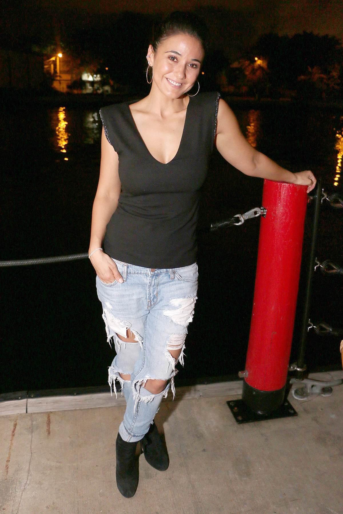 Emmanuelle Chriqui at Seaspice in Miami-2