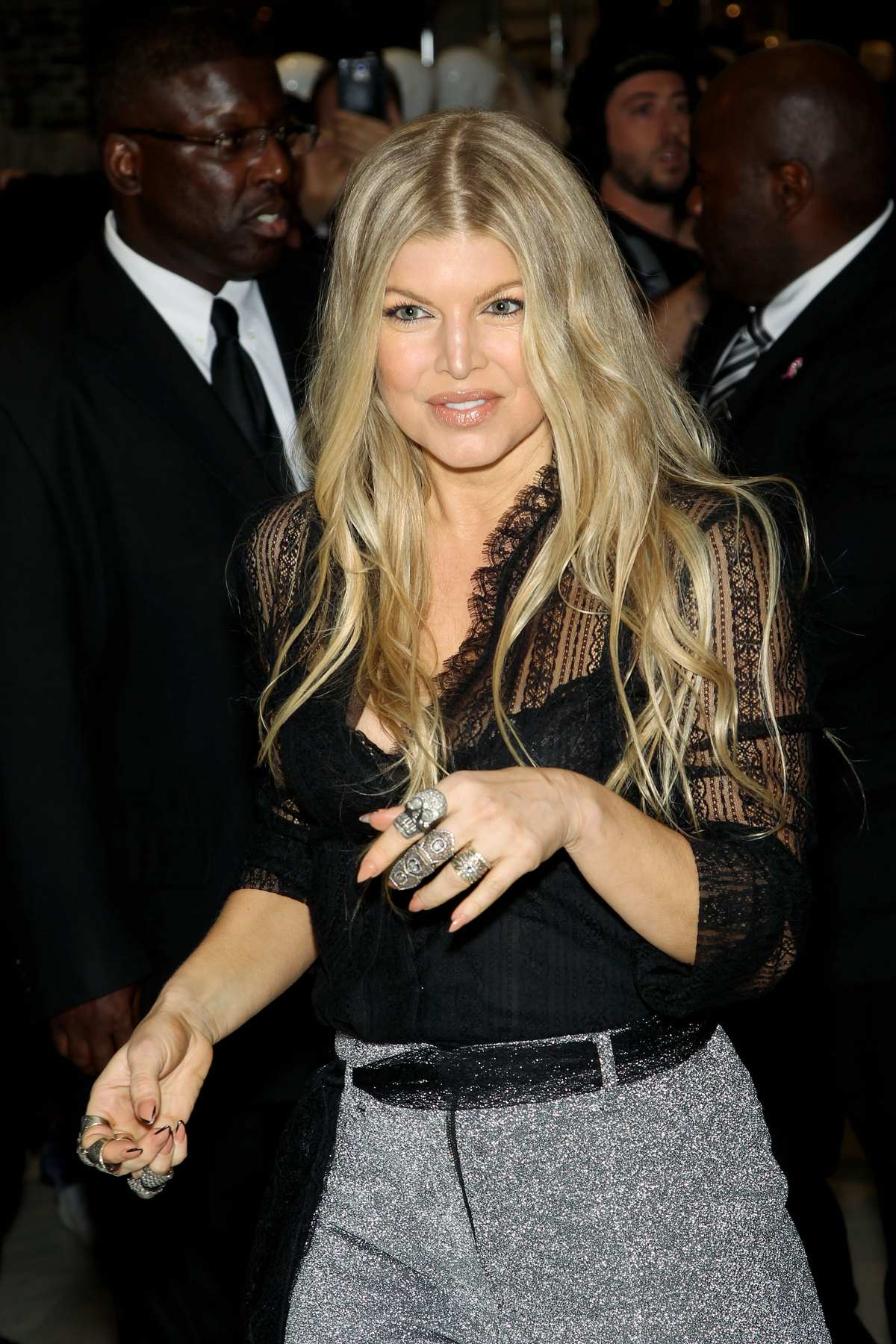 Fergie at Her Fall Fergie Footwear Collection-1