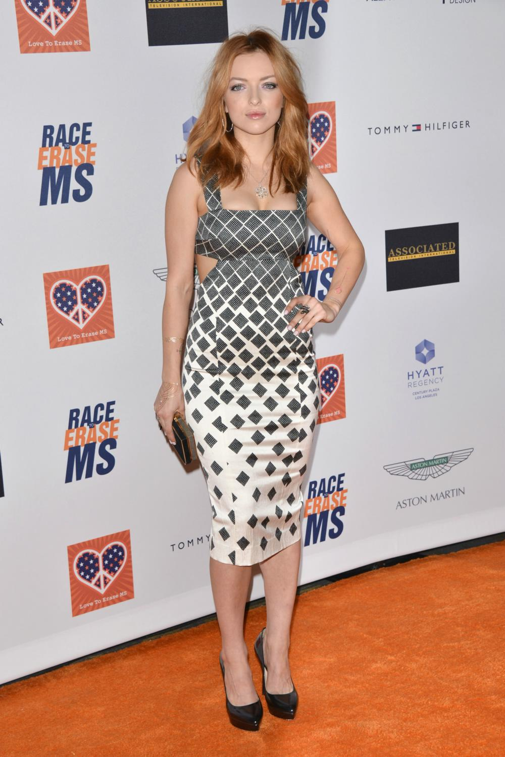Francesca Eastwood at The Annual Race To Erase MS Event-1