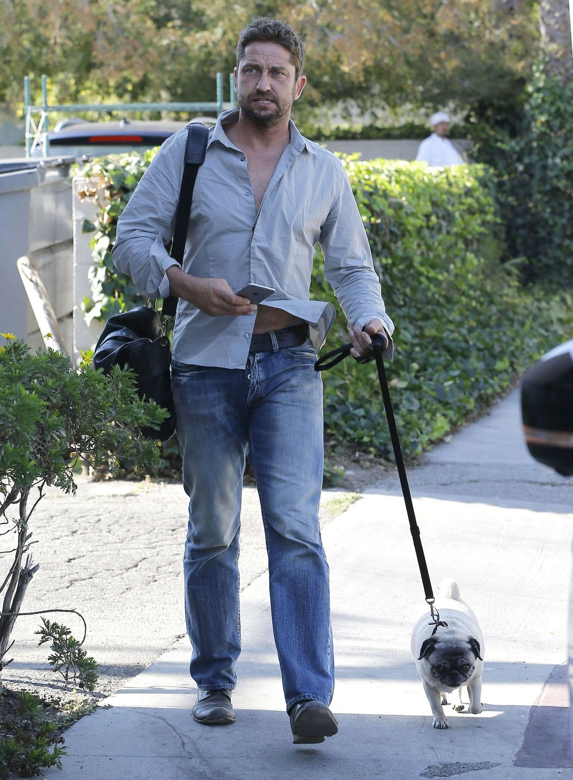 Gerard Butler in West Hollywood, California-1