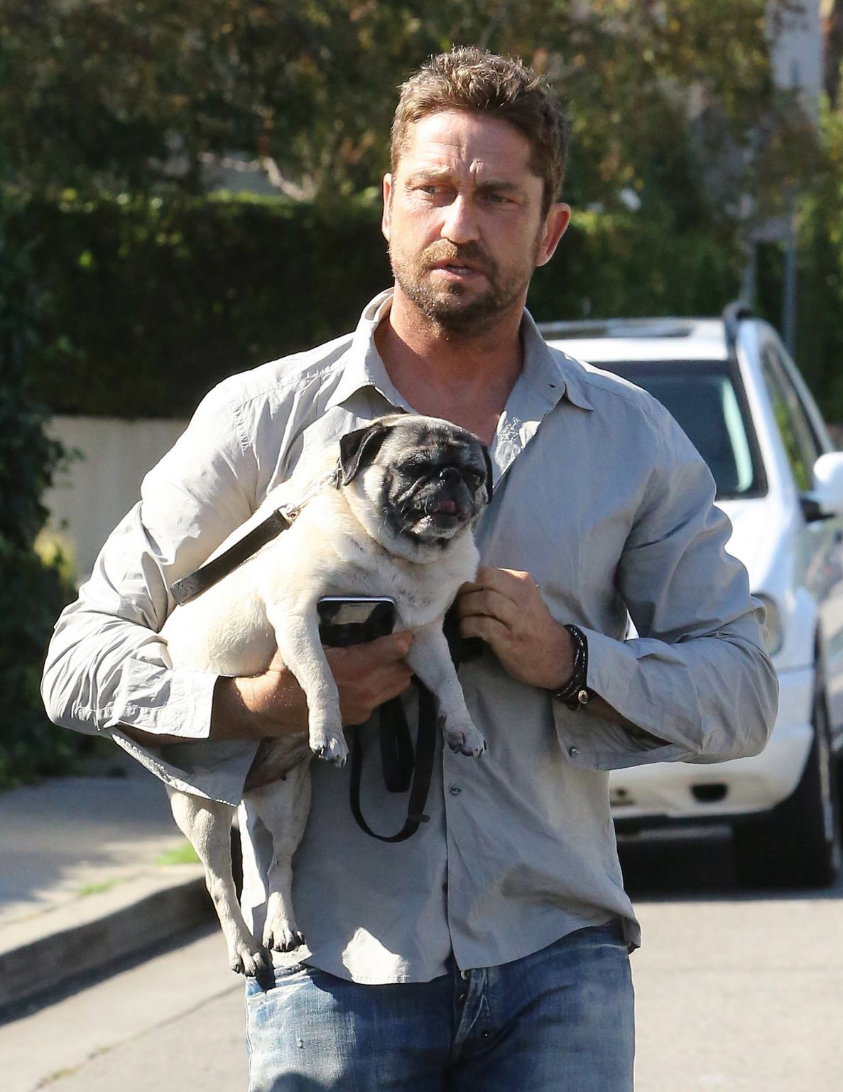 Gerard Butler in West Hollywood, California-2