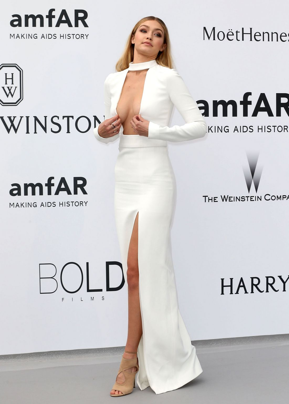 Gigi Hadid at amfARs Cinema Against AIDS Gala-2