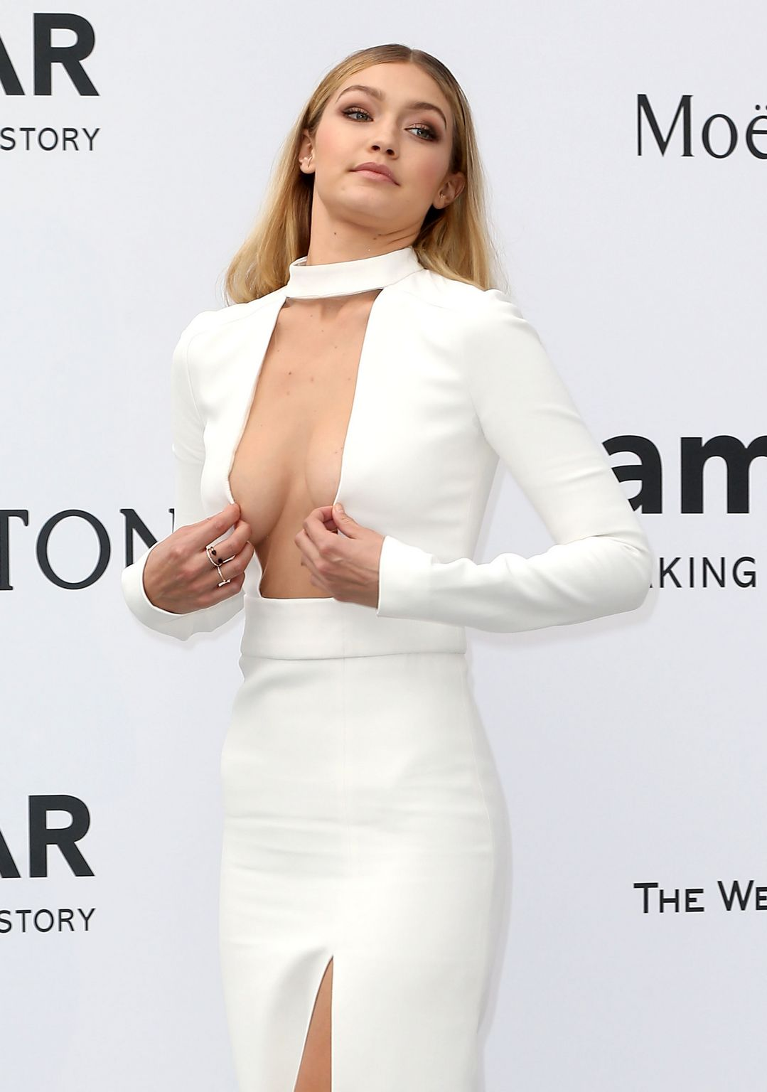 Gigi Hadid at amfARs Cinema Against AIDS Gala-3