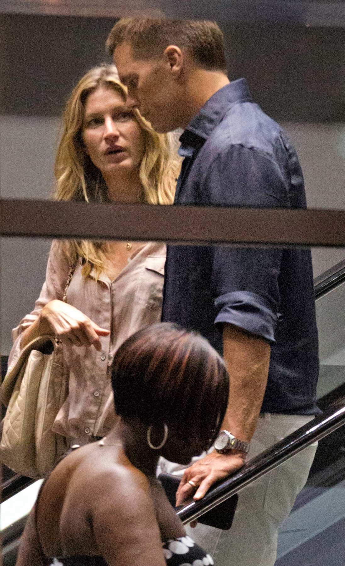 Gisele Bundchen and Tom Brady Hand in Hand Leaving Movie Theatre-2