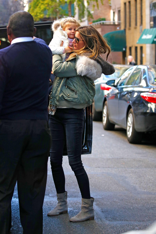 Gisele Bundchen Mommy Duty in NYC-3
