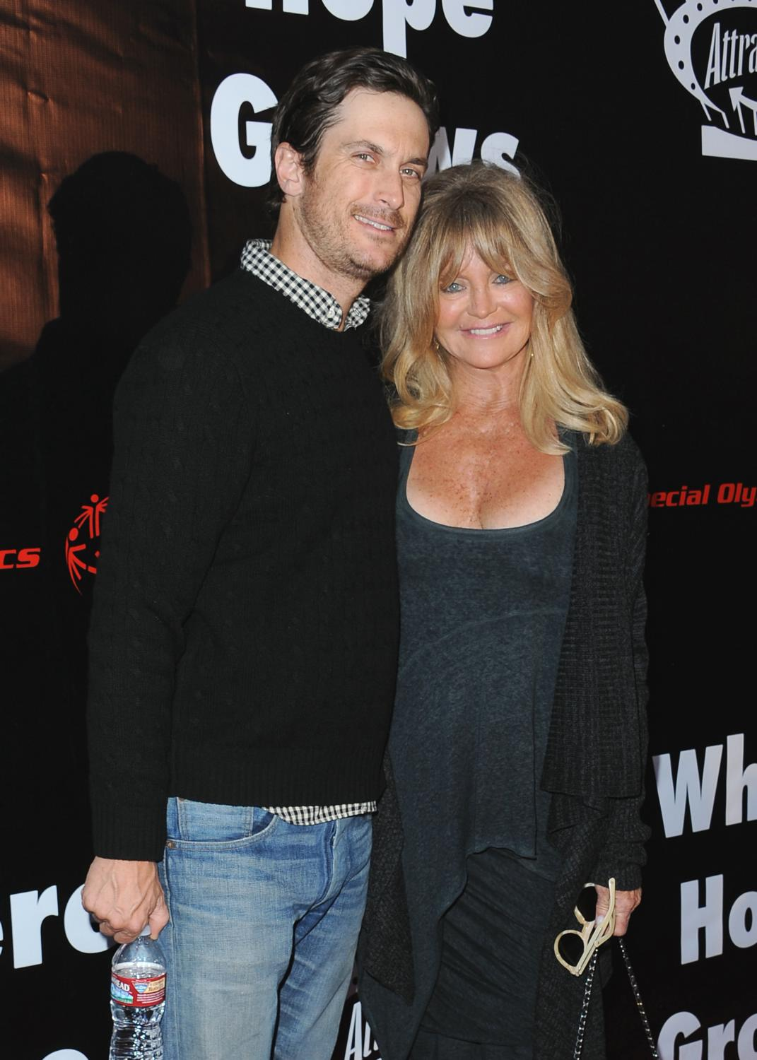 Goldie Hawn and Oliver Hudson at Where Hope Grows LA Premiere-2