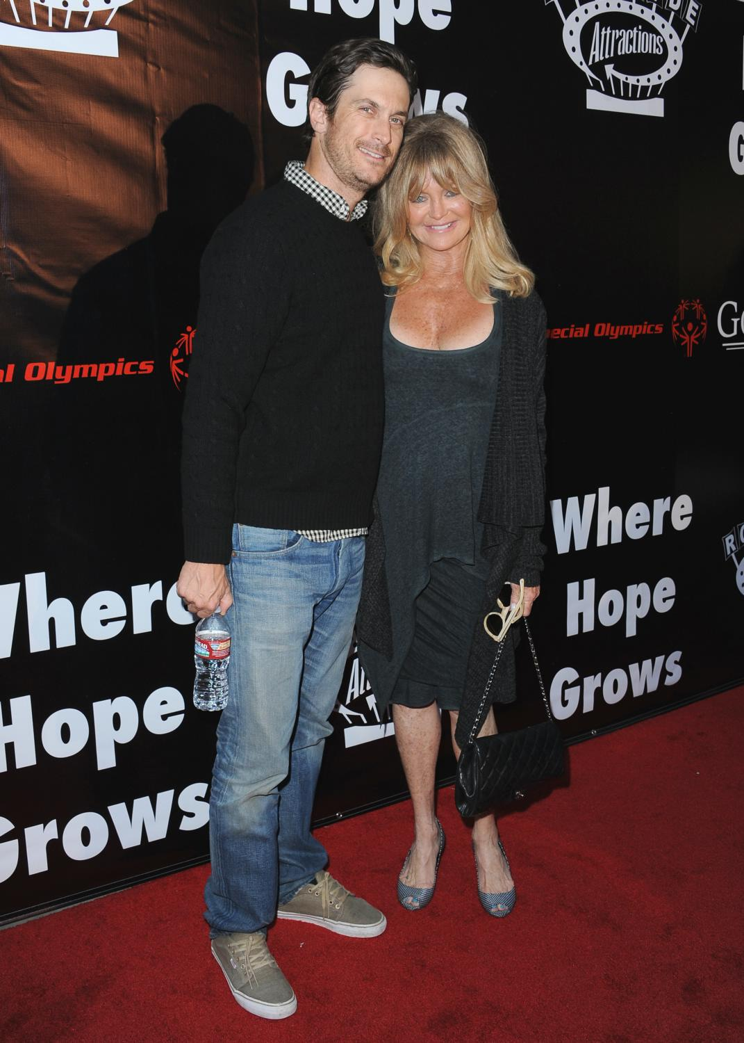 Goldie Hawn and Oliver Hudson at Where Hope Grows LA Premiere-3