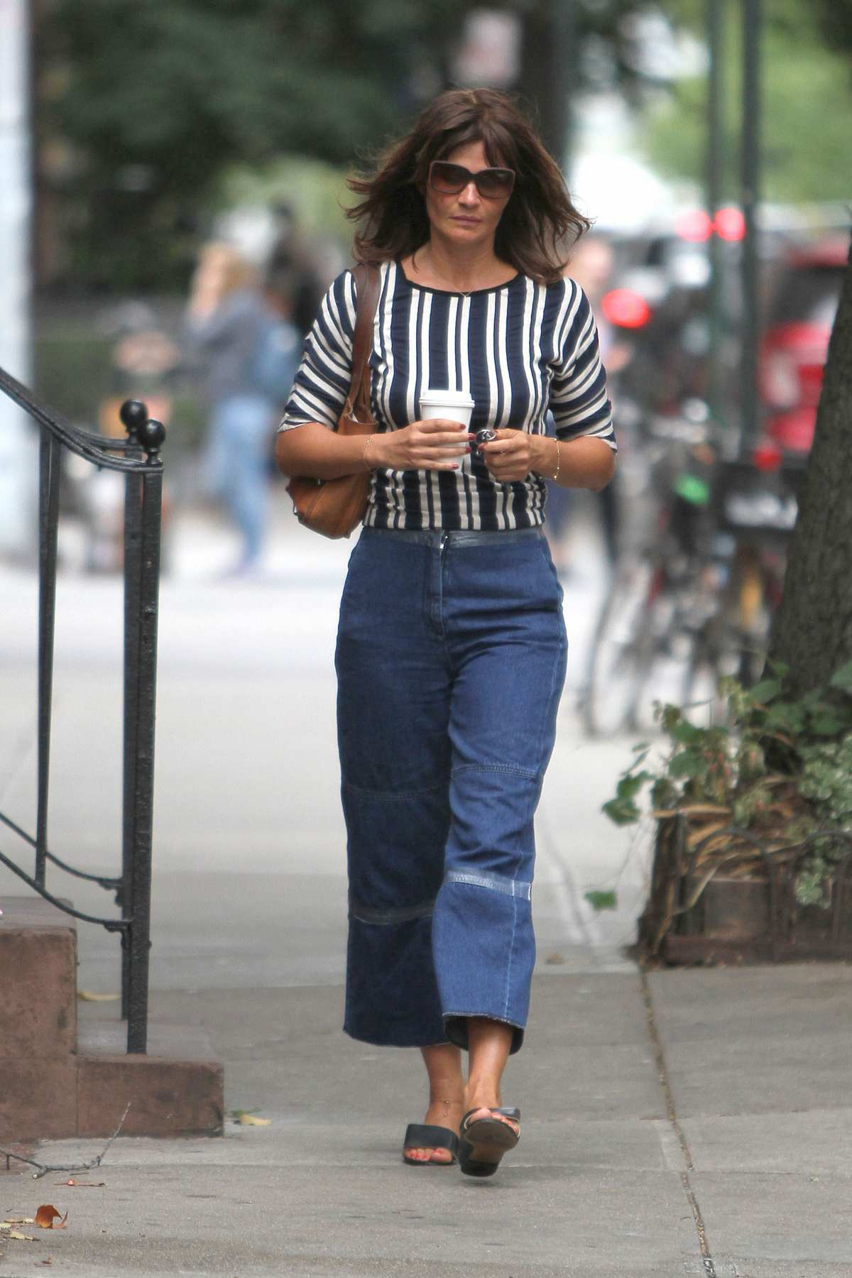 Helena Christensen and Paul Banks in West Village-1