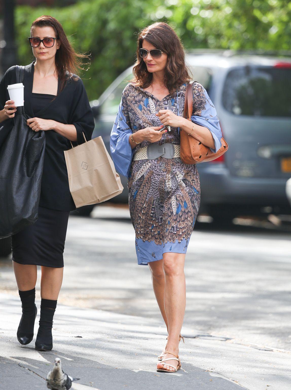 Helena Christensen in West Village-2