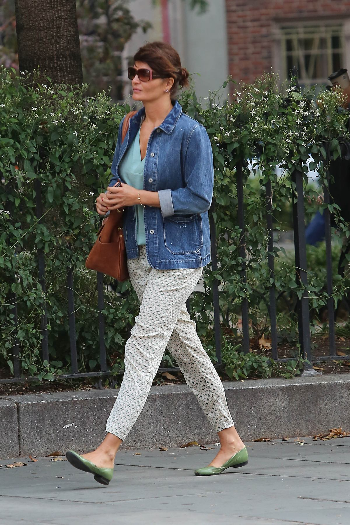 Helena Christensen Out in New York-1